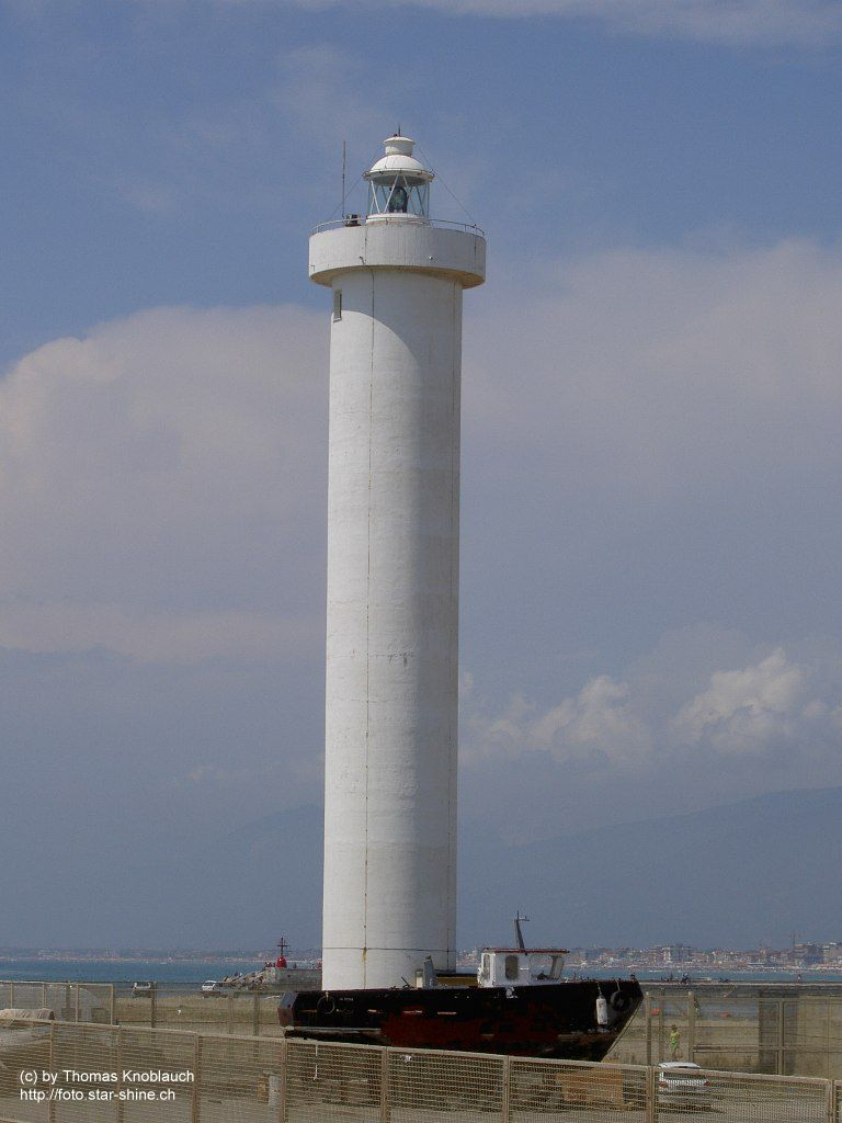 The new Lighthouse in Viareggio, Italy