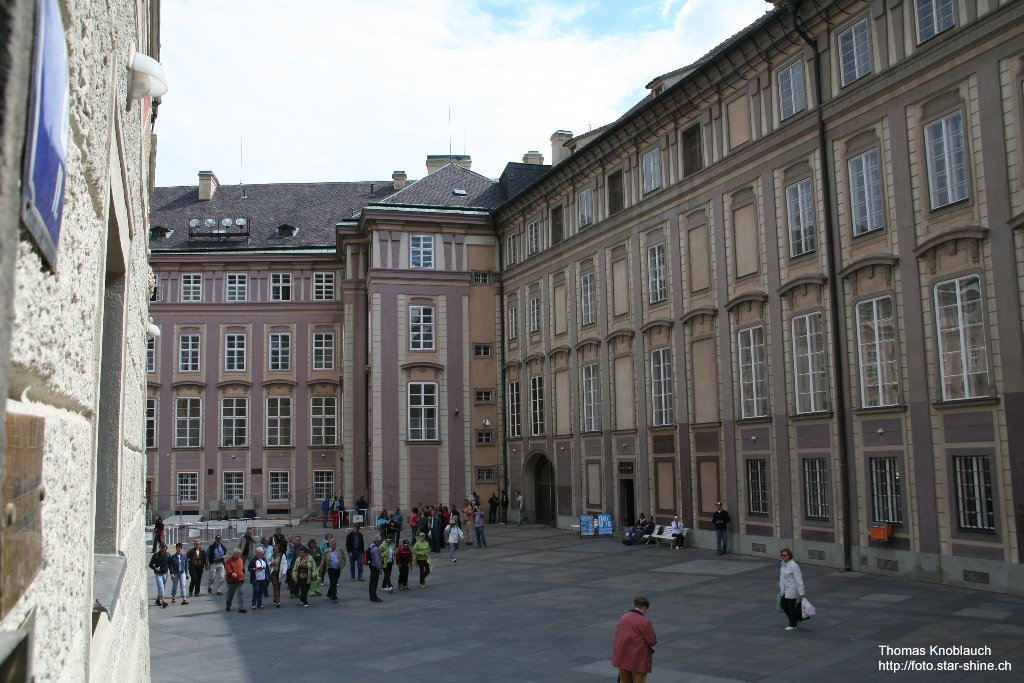 Third innerward of Hradschin, Prague, Czechia