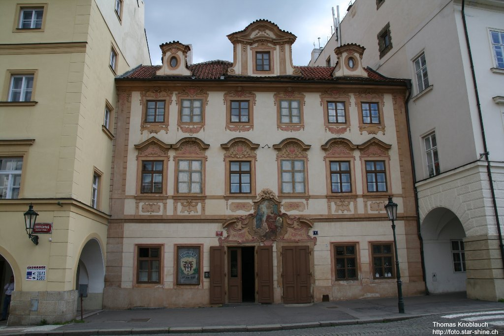 Facade, Prague, Czechia