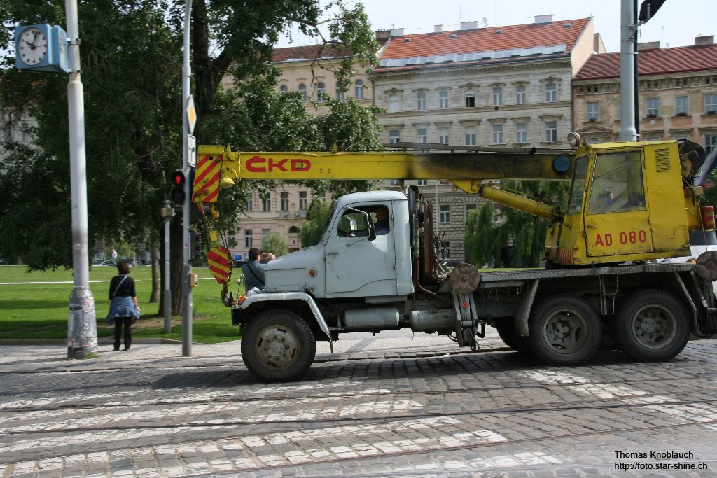 An old truck, Prague, Czechia