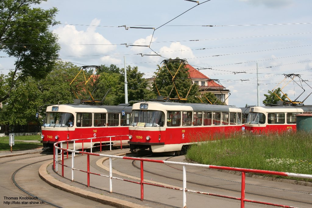 Prague tramways, Czechia