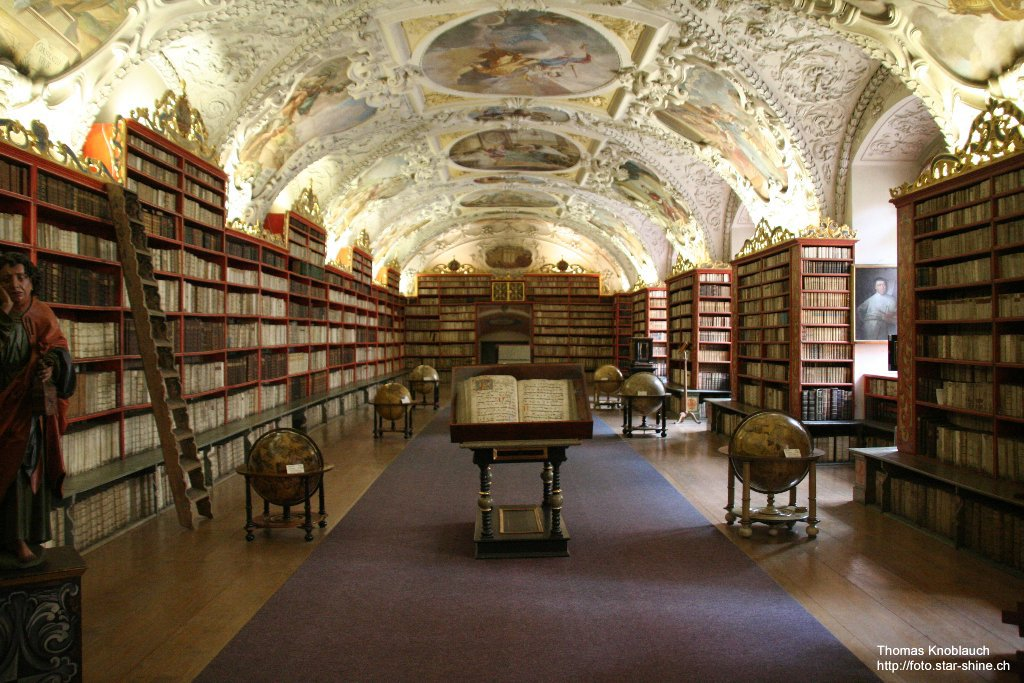 Library of Strahovsky cloister, Prague, Czechia