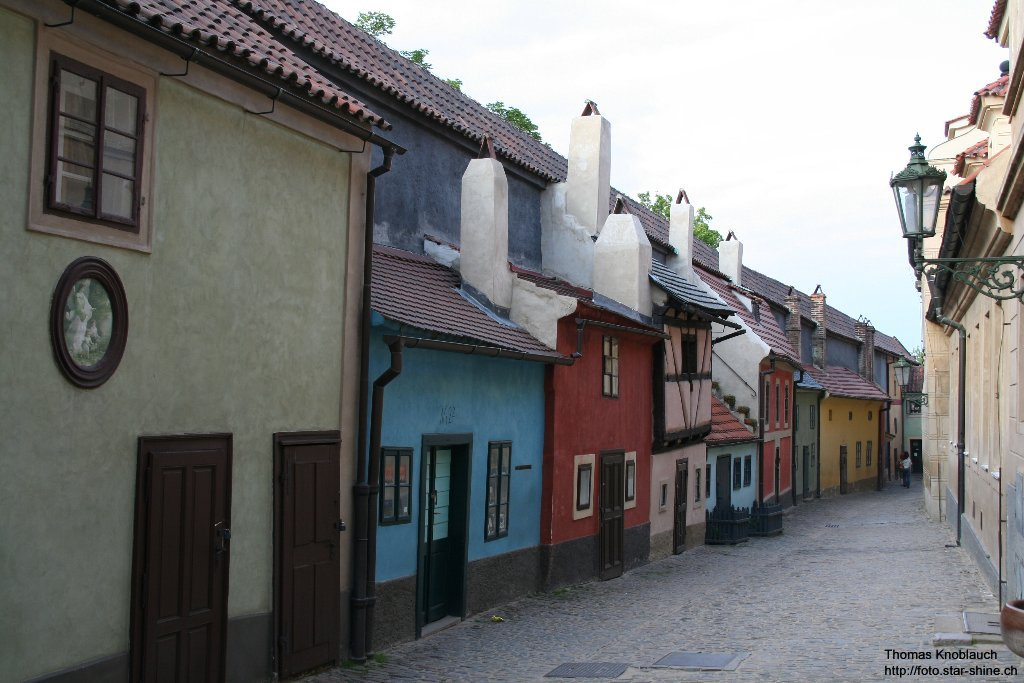 Goldmaker Alleyway, Prague, Czechia