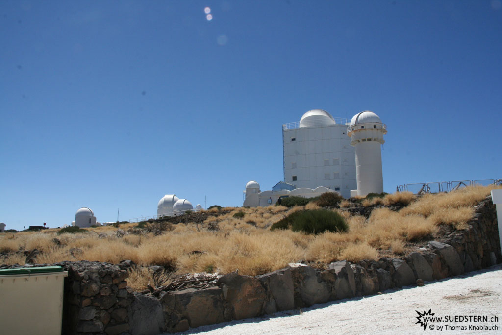 Gregor and other observatories (Izaña, Teneriffa) - IMG 0290