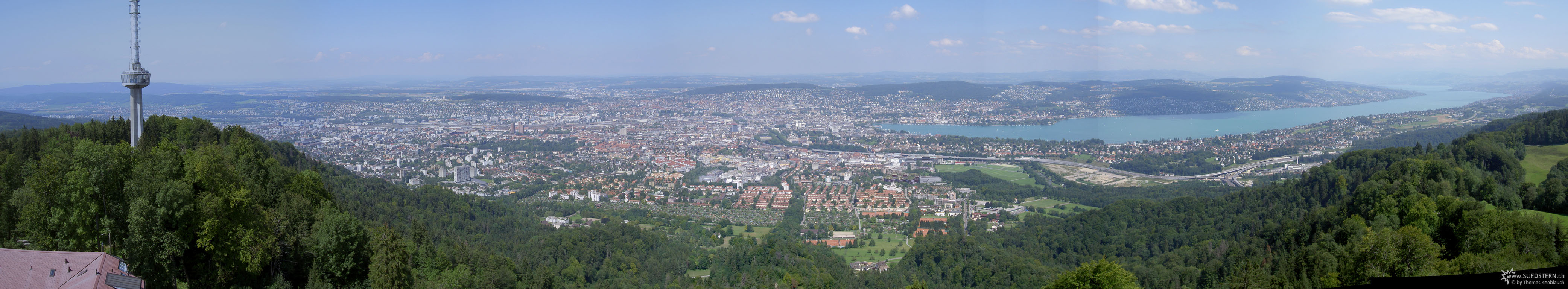 2007-07-27 - Panorama from Uetliberg Zürich, Switzerland