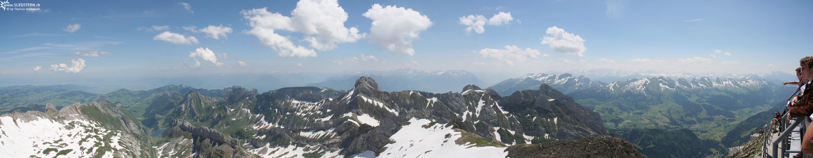 2008-06-22 - Saentis Panorama direction east