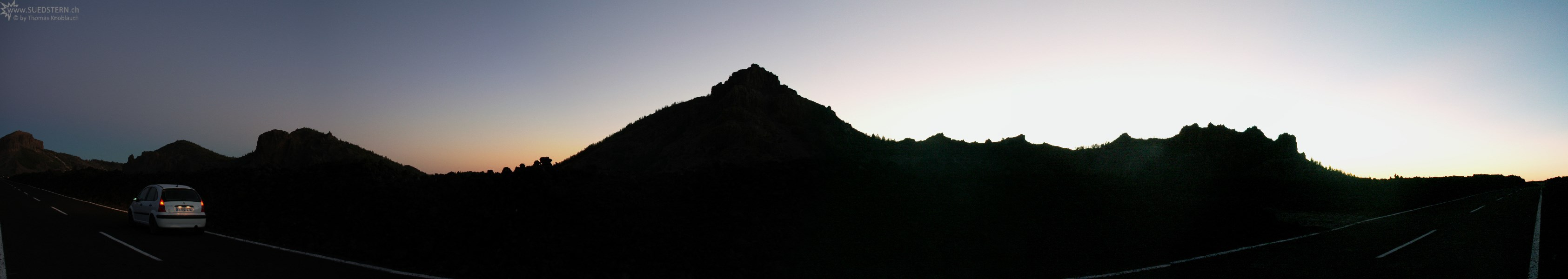 2007-09-05 - 12 - Teneriffa, sundown at Teide Caldera