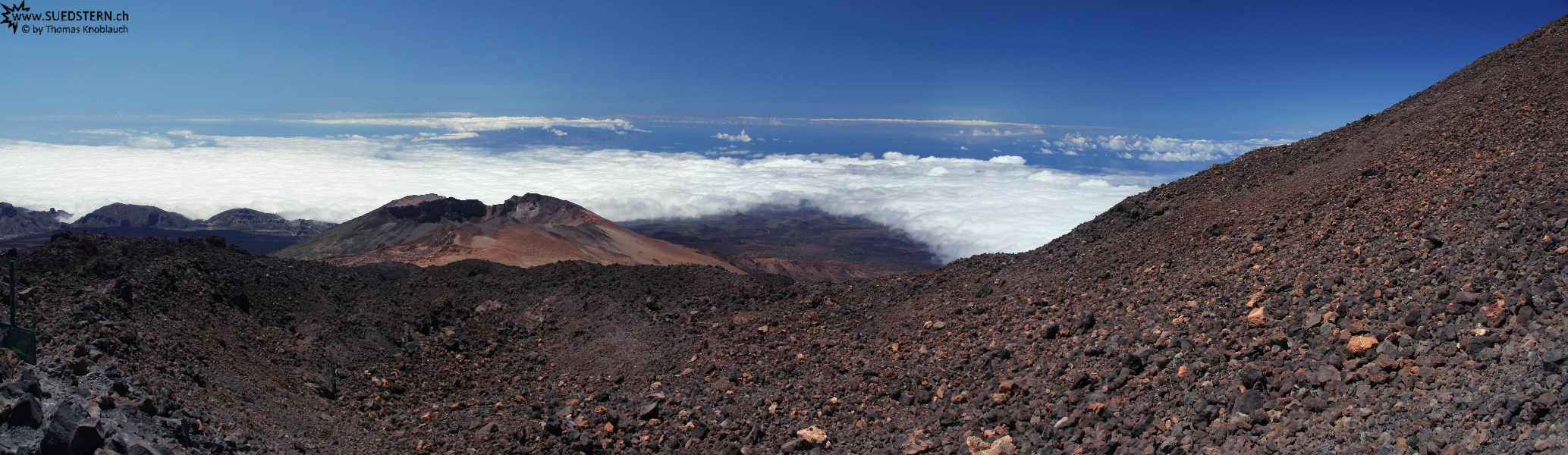 2007-09-06 - 15 - Teneriffa, Pico Viejo seen from Teide mountain