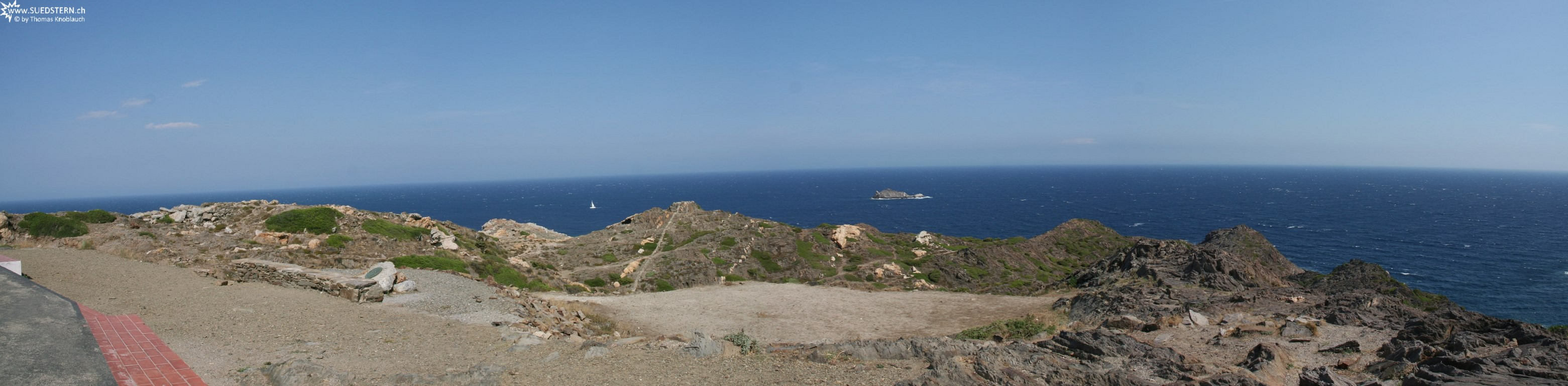 2008-09-03 - Panorama from Cap de Creus - Spain 1