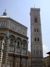 Battistero and Tower on the main square of Florence