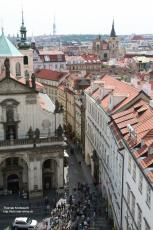 View from Kleinseiter Tower direction east, Prague, Czechia