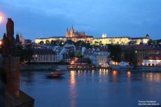 Hradcany by night, Prague, Czechia