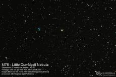 2007-10-16 - M76 Little Dumbbell Nebula